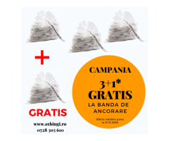 Super oferta 3+1 gratis : banda de ancorare TOTAL RACE