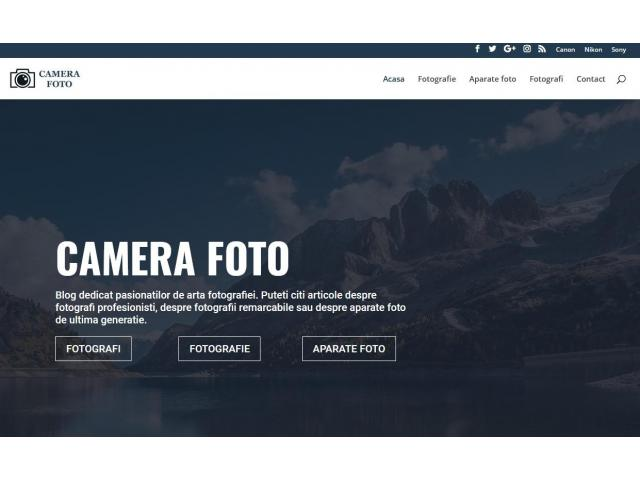 Blog Camera Foto profesionala mirrorless