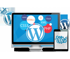 Site de prezentare WordPress