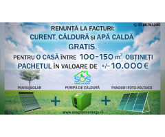Sisteme fotovoltaice on-grid comerciale